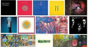 King Crimson Cover Arts
