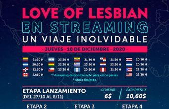 Love of Lesbian Concierto Streaming